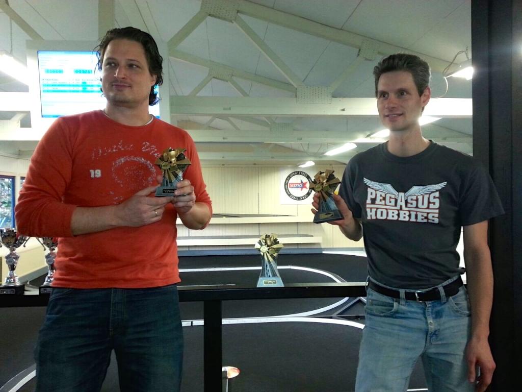 HFCC Racing 2014 clubkampioenen 2WD klasse.